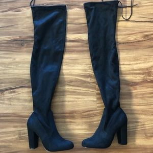 Lulus New Thigh High Boots size 7.5 and 9